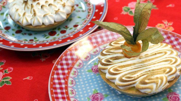 Citroentaartje met meringue | VTM Koken