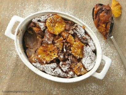 Chocolate Orange Bread Pudding | Recipe