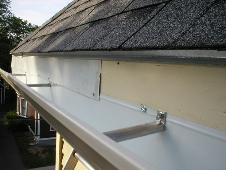 Eavestrough a Must Repairable Section For Perfect Maintenance of The House.