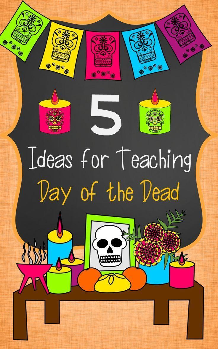 Papel Picado video- Ideas for teaching Day of the Dead (Día de los Muertos) in Spanish Class.