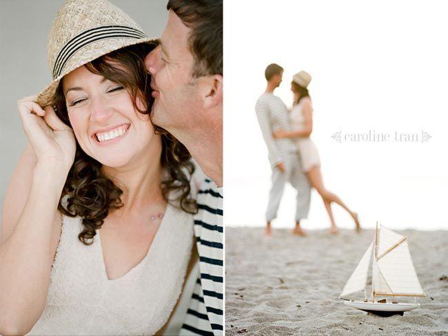 nautical theme engagement photos   caitlin   simon