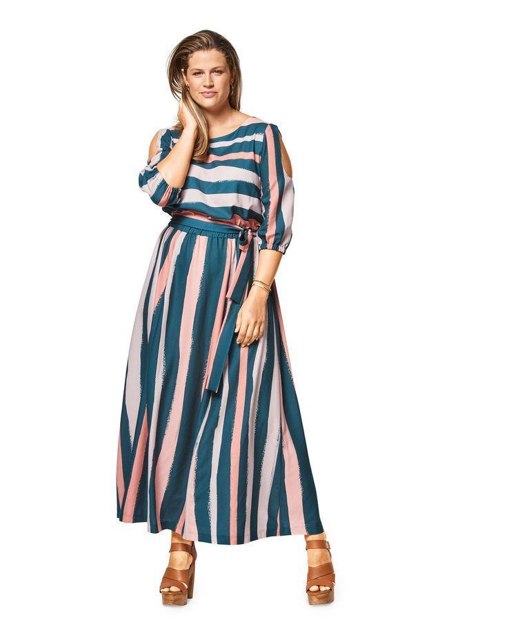 low priced c4eb4 32ad0 burda style, Schnittmuster, Sommerkleid F/S 2018 #6449A ...