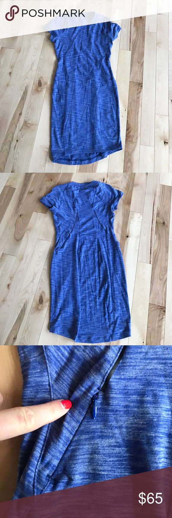 Lululemon dress size 6 Brand new never worn! Lululemon dress with a back pocket! Love it!! lululemon athletica Dresses