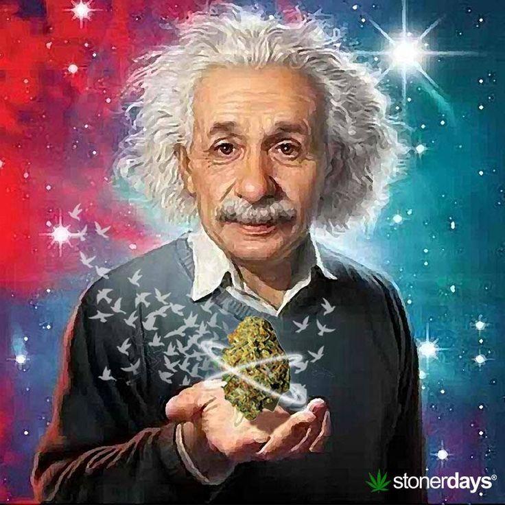 Einstein Smoked Weed Regularly