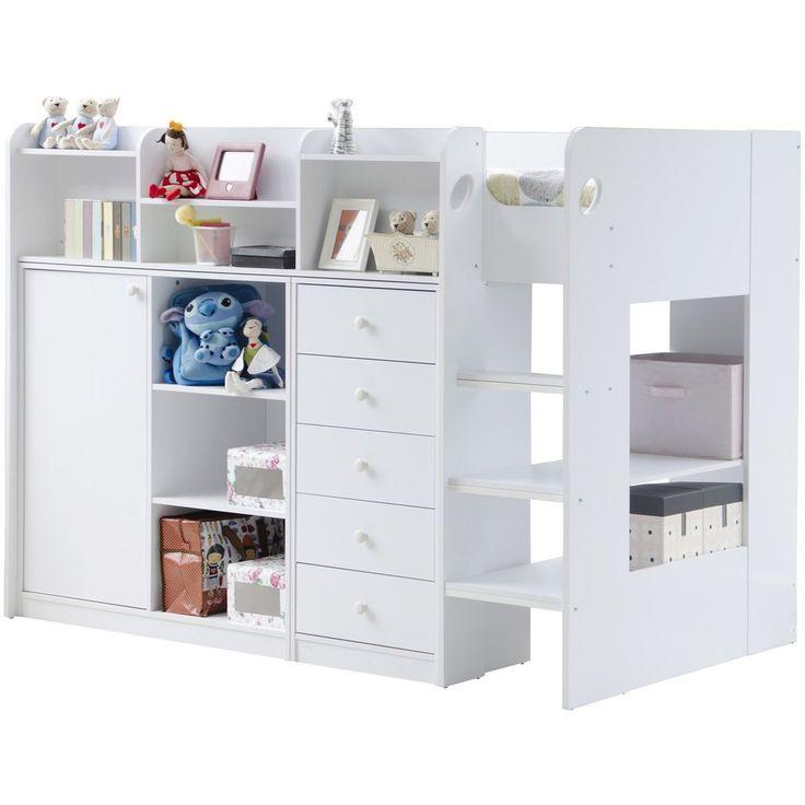 Flair Furnishings Wizard Junior High Sleeper Storage station FF26H3 – Children's Furniture Store