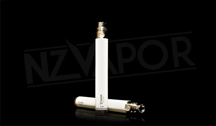 VISION SPINNER 900mah E-CIGARETTE BATTERY The medium length body of the VISION SPINNER 900mah battery gives good battery life and is easy to handle, while being easily placed in your pocket or bag. Suited to those who vape regularly throughout the day and want a good, consistent punch behind each vape. The ultimate quality of the VISION range will not disappoint!