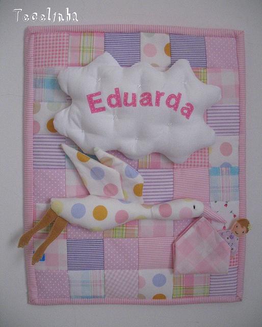 Porta de maternidade para Monique - patchwork: Baby, Photo