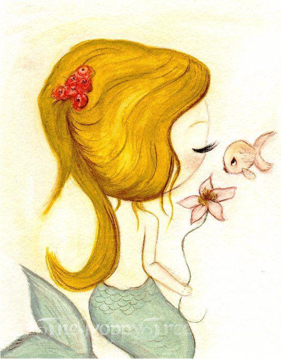 Wonderful Mermaid Wall Art Photos - Wall Art Design - leftofcentrist.com