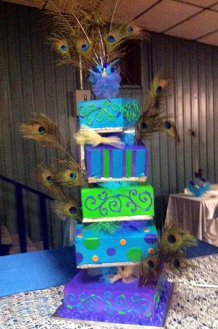 17 Best images about Peacock Quinceanera on Pinterest ... Quinceanera Peacock Cake