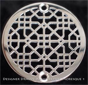Designer Drains - Architecture Moresque 1
