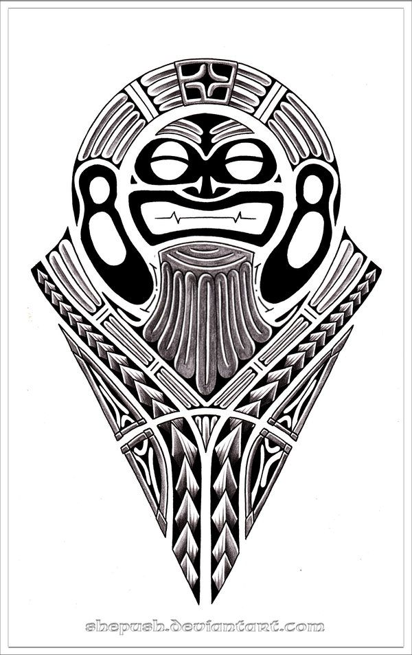 Tribal God by shepush on DeviantArt