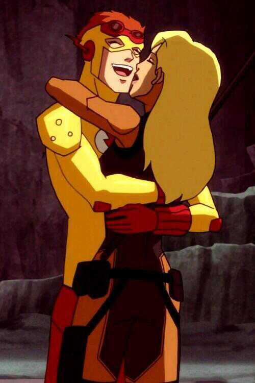The gallery for --> Young Justice Kid Flash And Artemis ...