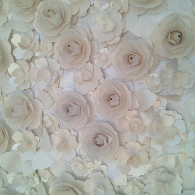 Flores na cama do Jun Nakao - casa cor 2012