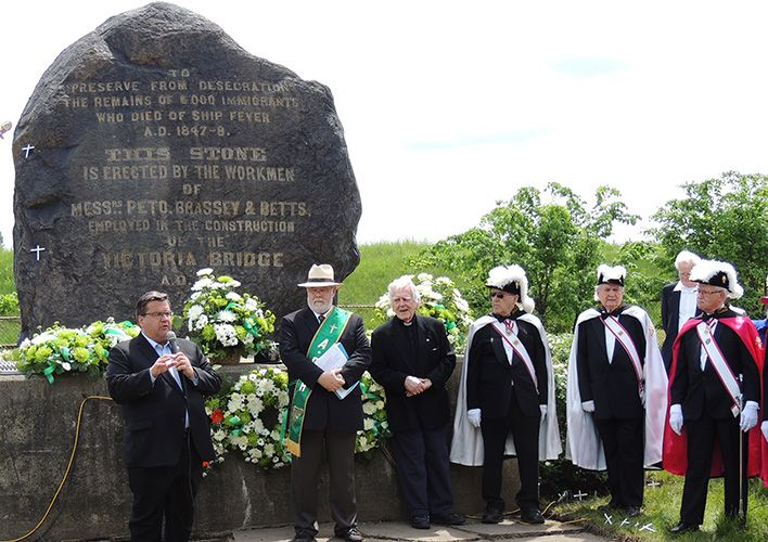 Irish Memorial Park now doubtful