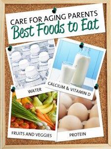 Best foods for your aging parents #caregiving