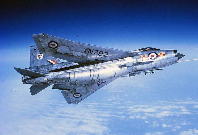 1972 RAF English Electric Lightning