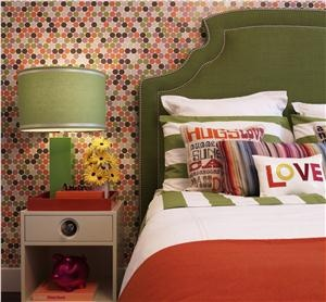 Contemporary Modern Retro Bedroom By Deborah Wecselman