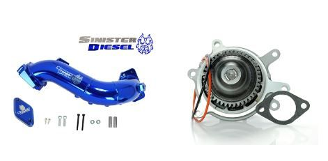 Sinister Diesel is one of the top manufacturers of high quality diesel performance truck parts for Ford Powerstroke, Dodge Cummins and GMC Duramax trucks. As one of the best Canadian supplier of Sinister Diesel, you can find different stylish and distinctive metallic blue Sinister Diesel part in BC Diesel store at affordable rate.