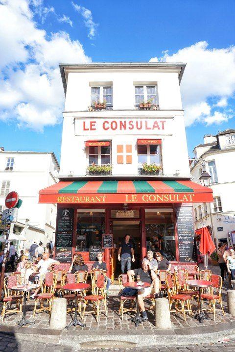 cute parisian cafes