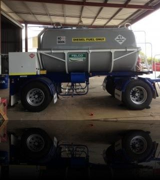 Felco Manufacturing - 10,000 litre #diesel #trailer. http://goo.gl/15Pbn1