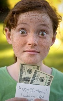 Children's Bible lesson on contentment & the love of money