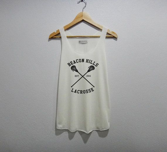 Awesome lacrosse shirt inspired by Teen Wolf!
