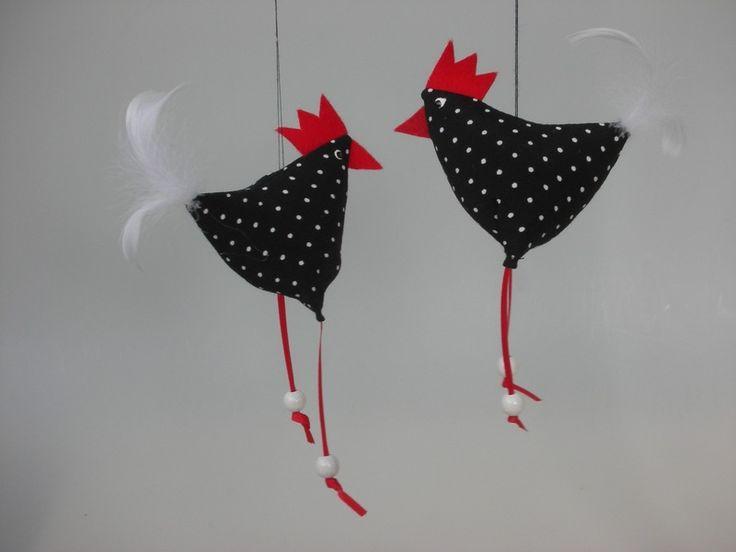 Huhn Ostern  von Firlefanz-Design auf DaWanda.com, 3,90