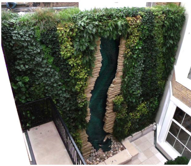 Cascading Water Garden | Community Post: 39 Insanely Cool Vertical Gardens
