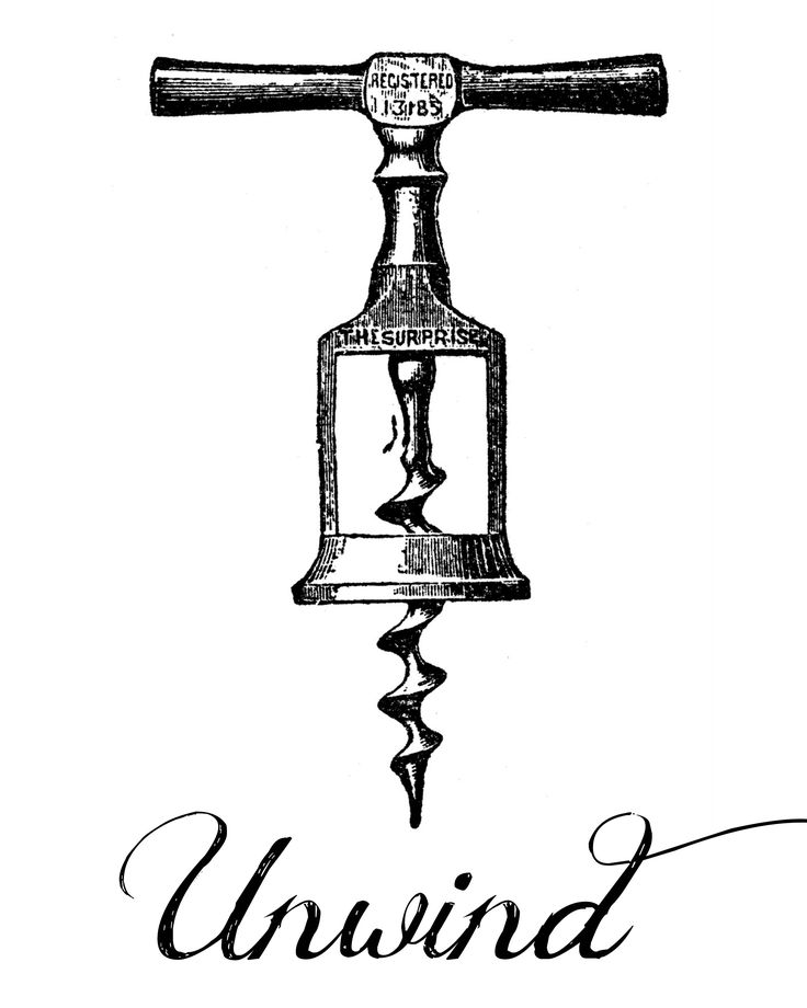 Fun FREE Wine Printables - Vintage Corkscrews