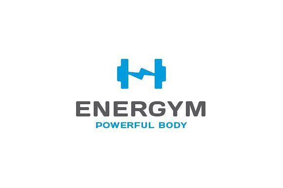 Energym Gym Fitness Logo Fitness Logo Gym Logo Logo