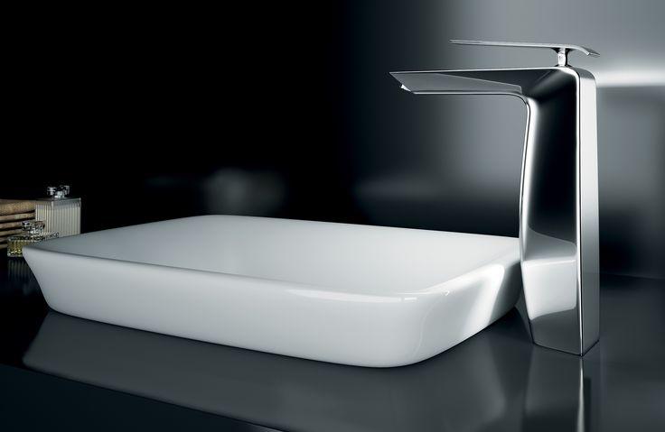 La serie #BOOMERANG è la grande novità 2013 di #Gattoni Rubinetteria: completa con due soluzioni per lavabo (alto e normale), bidet, vasca e vasca-doccia incasso ed esterni.