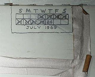 G.A.B.I.E.: Los astronautas del Apolo XI hicieron 'grafitis' d...