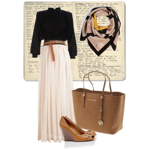 Hijabi outfit inspiratipn #maxi #skirt