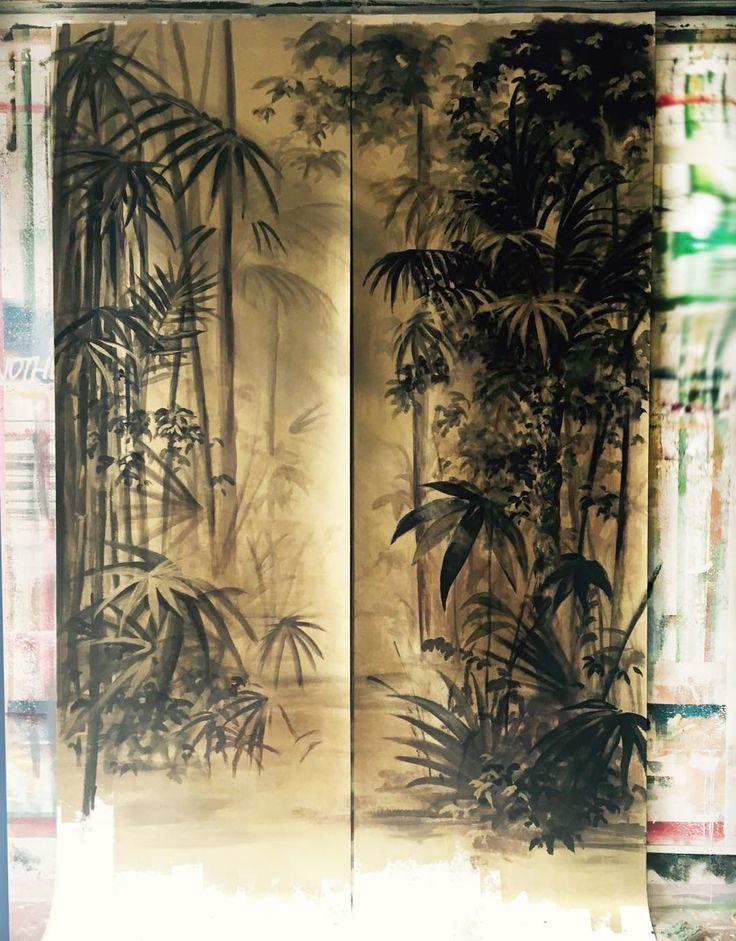 Picta handmade wallpaper - Sketch