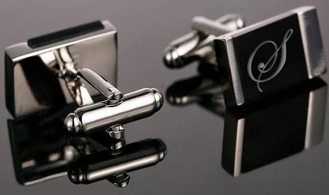 isme özel kol düğmesi