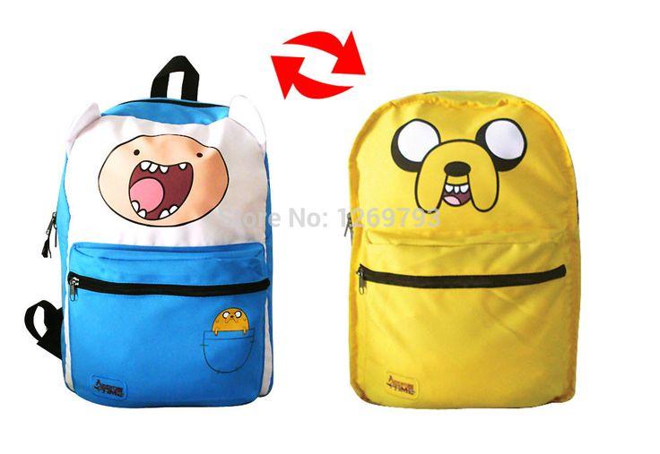Mochila приключения время рюкзак приключения время мешок школы детей mochilas школьников 2 в 1 финн джейк рюкзак приключения время купить на AliExpress