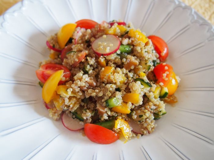 美容食「キヌアのサラダ」 レシピ付き|Belleの海外旅行記と恋する美肌