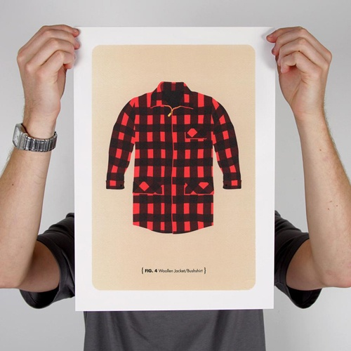 326's Bush Man print series.