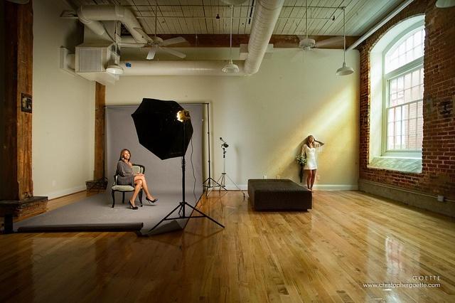 simple studio space