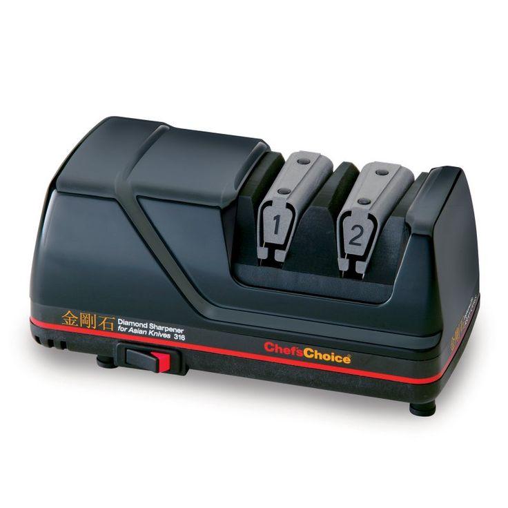 Edgecraft M316 Electric Asian Knife Sharpener - Black - 0316000