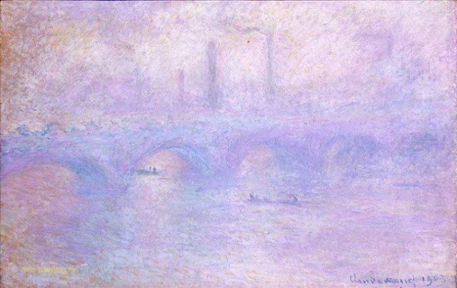 «Мост Ватерлоо. Эффект тумана»Клод Моне.
