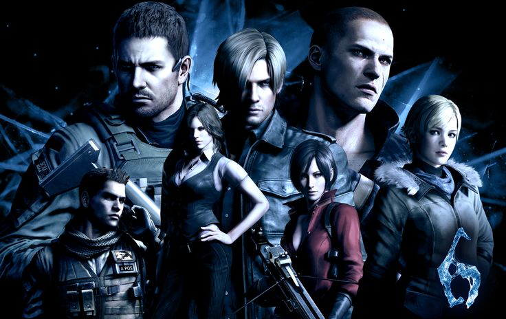 Resident Evil 6 Character Roster Wallpaper | The National