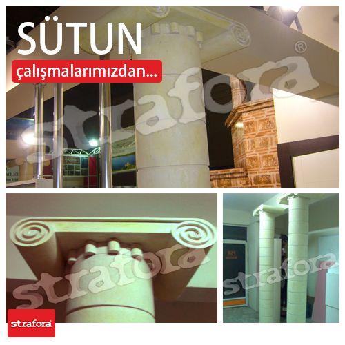 Fuar standları için hazırladığımız, sütun çalışmalarından örnekler görüyorsunuz.  Detaylı bilgi için; http://www.strafora.com.tr/tr/strafora-iletisim  #Strafor #3D #Fuar #Reklam #Stand #Tanıtım #Sütun