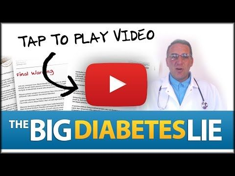 Диабет Breakthrough Ваш доктор не расскажет вам о
