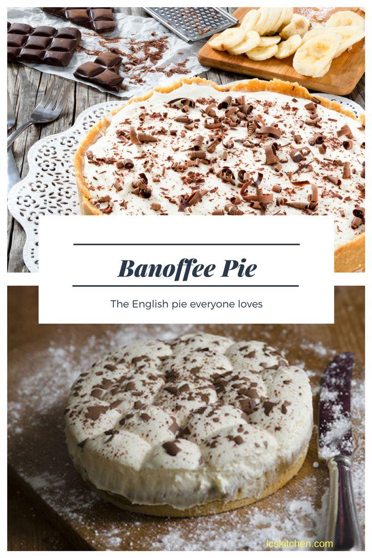 Banoffee Pie Recipe - Original Banoffee Pie from UK #recipe #banoffee #cake #cakes