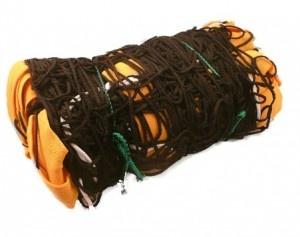 Siatka do siatkówki plażowej żółta – treningowa  –  siatka do siatkówki plażowej z przeznaczeniem do treningu z taśmami koloru żółtego. $39