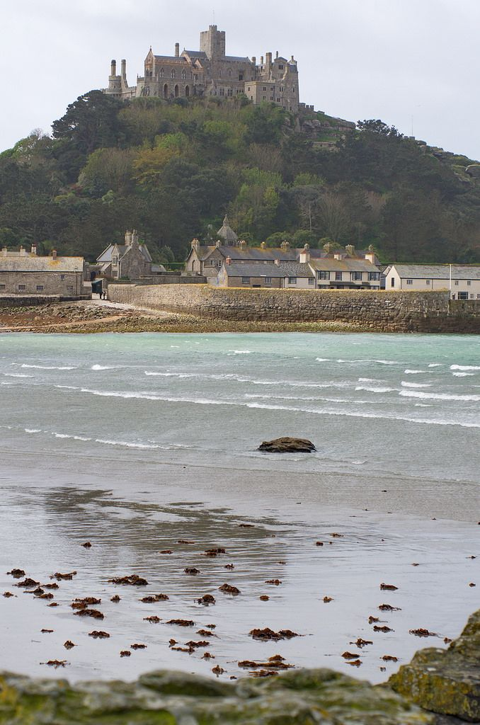 St Michael's Mount * Cornwall * England * By Andrew-Holloway on Flickr