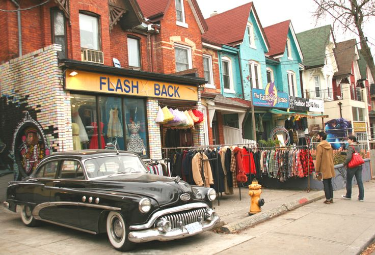 Kensington Market, Toronto, Ontario. When I was a teen, I thought that when the hippies were old enough to be in charge of the earth, everything would be peace and love. Wrong. But at least there is one piece of earth where they do rule. Great food, great shops, kind people.
