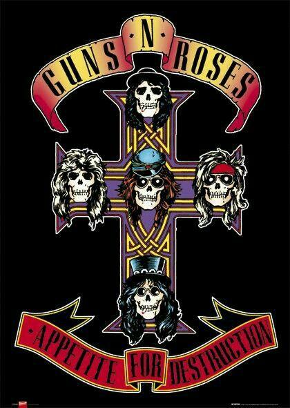 Guns'n Roses - Appetite For Destruction