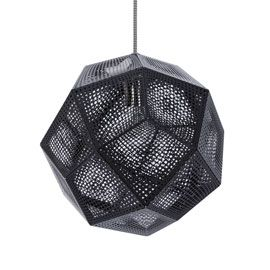 Tom Dixon Etch Black Pendant Light
